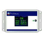 Server room temperature sensor with text alerts snmp nagios